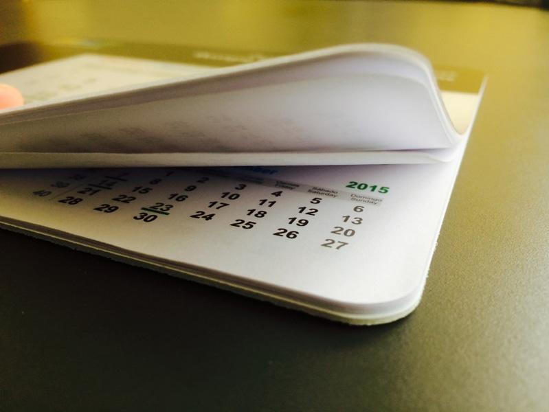 Mousepady z kalendarzem